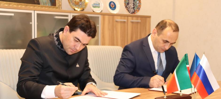 Подписано соглашение о сотрудничестве между Болгарской исламской академией и Азербайджанским институтом теологии