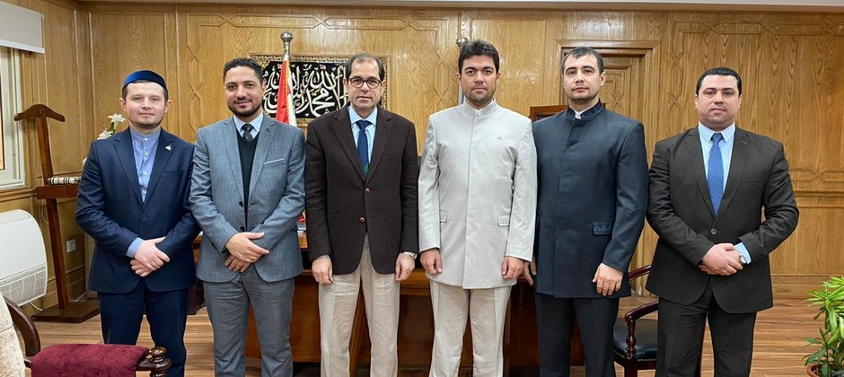 وفد أكاديمية بلغار الإسلامية في زيارة لجمهورية مصر العربية