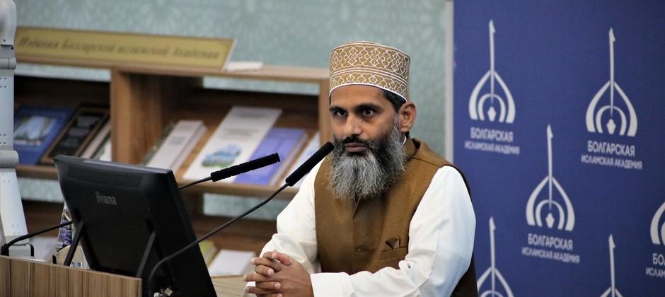 Болгарскую исламскую академию посетил известный богослов из Индии