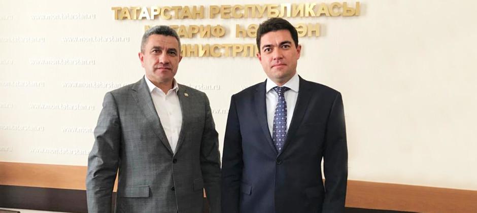 Ректор Академии встретился с министром образования и науки РТ