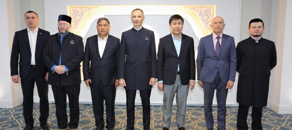Делегация из Кыргызской Республики посетила  Болгарскую исламскую академию
