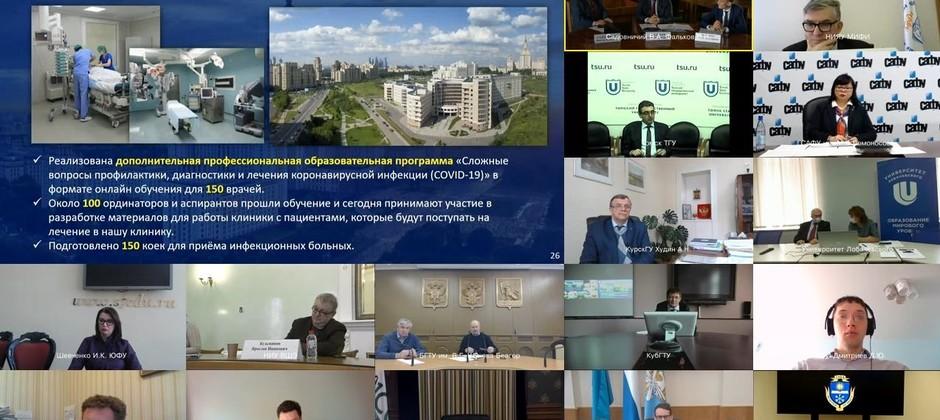 Финансовая устойчивость вузов и трудоустройство студентов в условиях пандемии / COVID-19