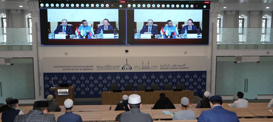 Магистранты Болгарской исламской академии прослушали онлайн-лекцию министра по делам религии и вакуфов Сирийской Арабской Республики