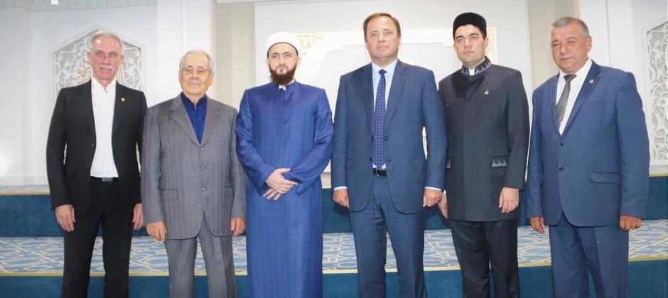 Игорь Комаров и Минтимер Шаймиев посетили Болгарскую исламскую академию