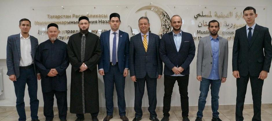 Данияр Абдрахманов встретился с зампредседателя Всемирного совета мусульманских сообществ