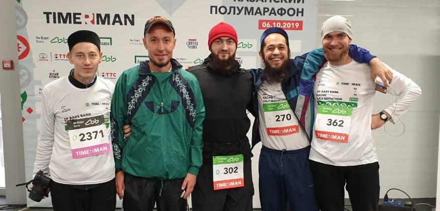 Магистранты Болгарской исламской академии – участники большого фестиваля бега