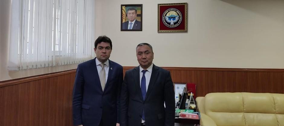 Ректор Болгарской исламской академии ознакомился с работой Госкомиссии по делам религии Кыргызстана