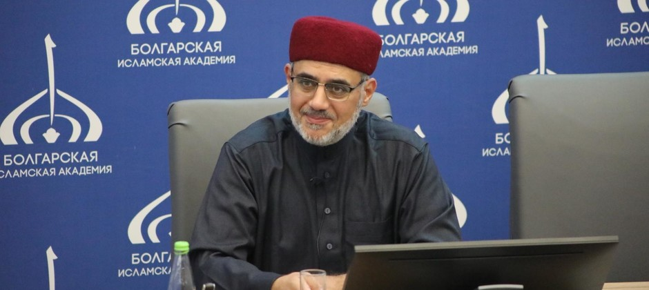 В Болгарскую исламскую академию прибыл известный богослов Саид Фуда