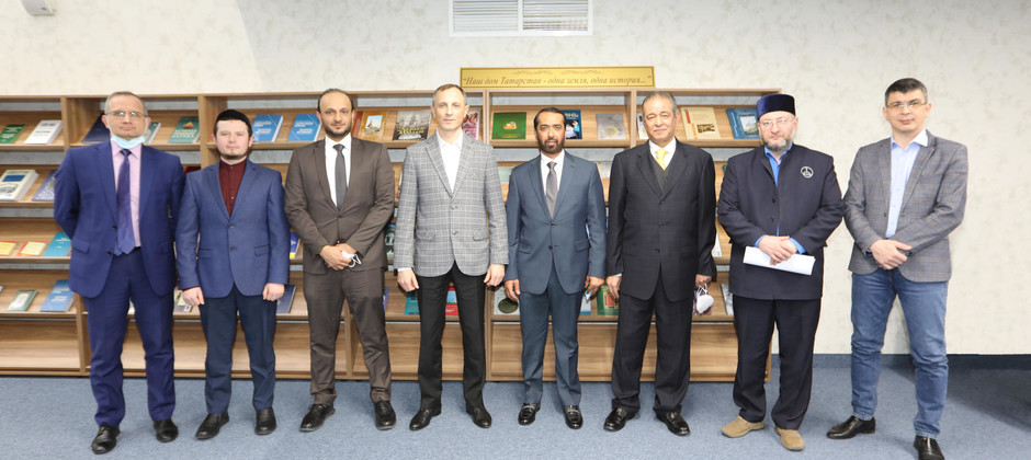 The World Muslim Communities Council's delegation is on an official visit to the Academy