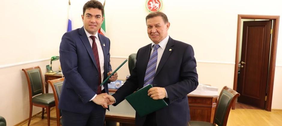 Подписано соглашение о сотрудничестве между Болгарской исламской академией и Академией наук РТ