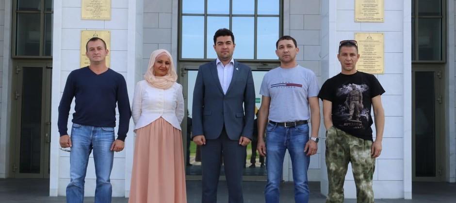 Ректор Академии встретился с представителями общественной организации Спасского района