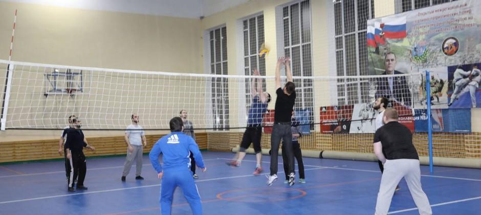 В Болгарской исламской академии прошел турнир по волейболу