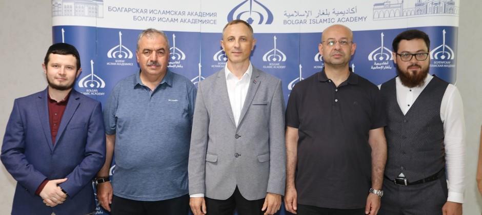 Болгарскую исламскую академию посетила делегация из Турции