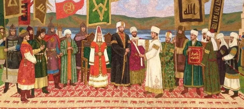 Поздравление ректора Болгарской исламской академии с Днем официального принятия Ислама Волжской Булгарией