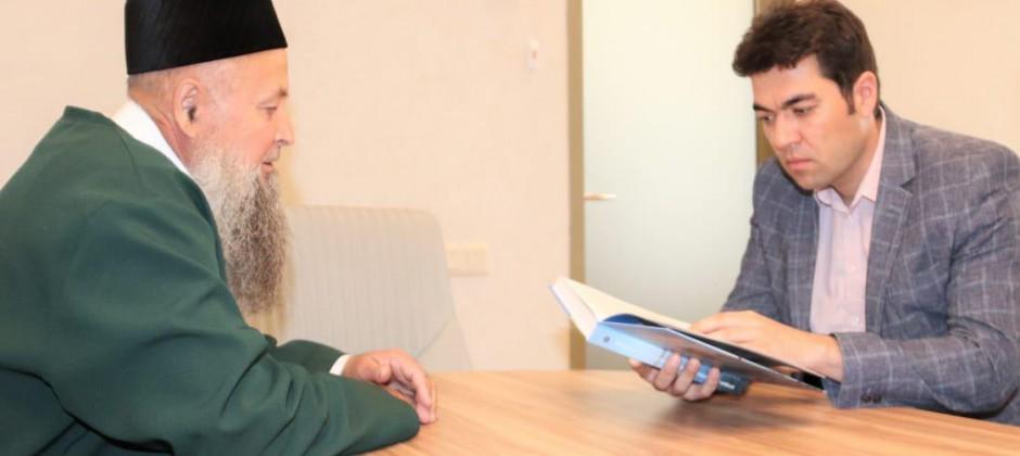 Ректор Болгарской исламской академии встретился с имамом-мухтасибом Спасского района Республики Татарстан