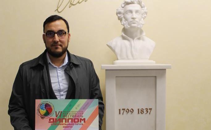 Студент Болгарской исламской академии стал дипломантом Республиканского межвузовского фестиваля