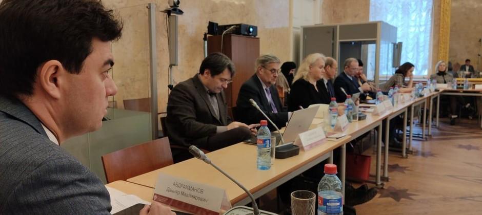 Ректор Болгарской исламской академии принимает участие в работе семинара в Санкт-Петербургском университете