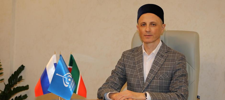 Поздравление и.о. ректора Болгарской исламской академии  А.А. Тимерханова с праздником Курбан-байрам