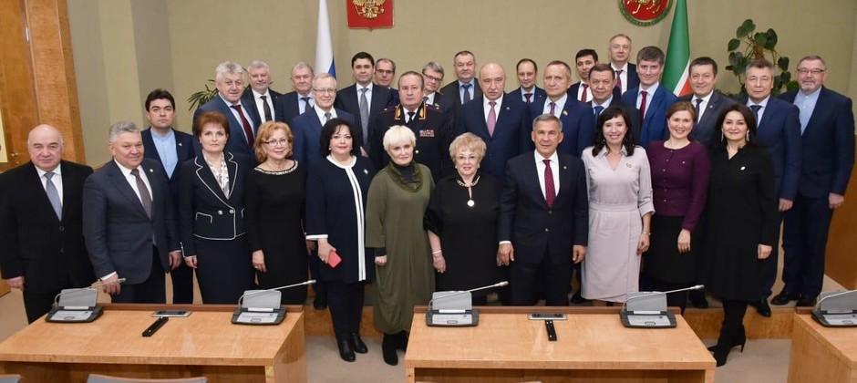 Состоялась встреча Президента РТ с ректорами вузов Татарстана
