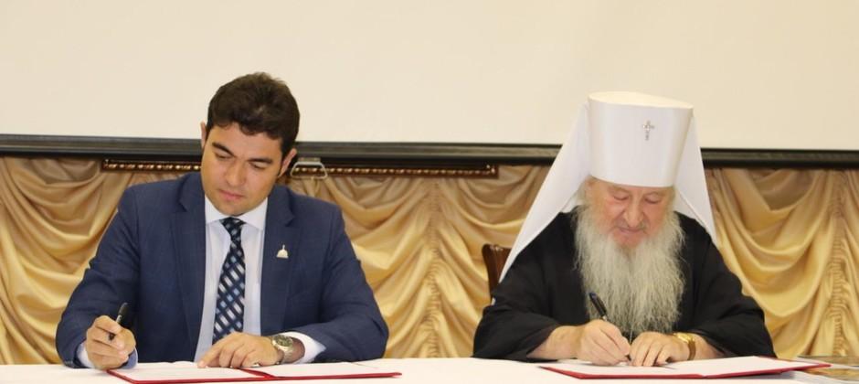 Подписан договор о сотрудничестве Болгарской исламской академии с Казанской православной духовной семинарией