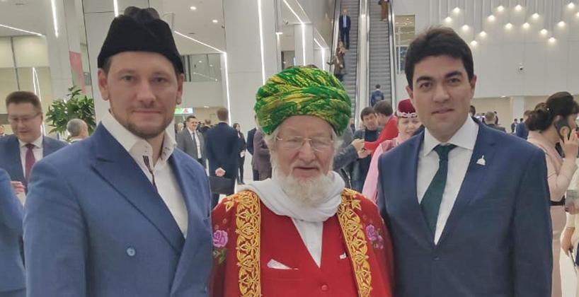 Ректор Болгарской исламской академии принял участие в торжествах, посвященных старту Года 100-летия образования ТАССР