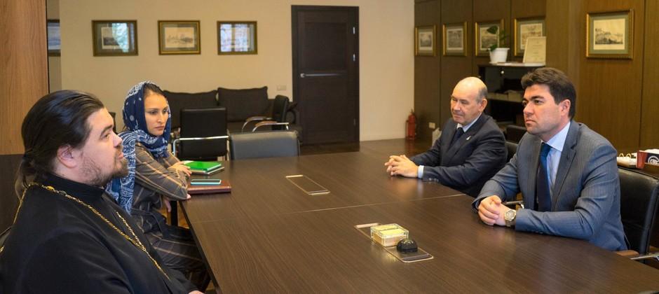 Ректор Болгарской исламской академии посетил Казанскую духовную семинарию