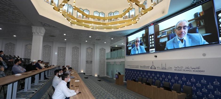 В Академии состоялась открытая онлайн-лекция доктора исламского богословия Саида Фуды
