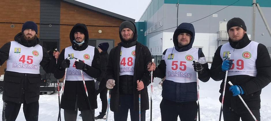 Студенты Академии приняли участие в массовой гонке «Лыжня Татарстана – 2021»