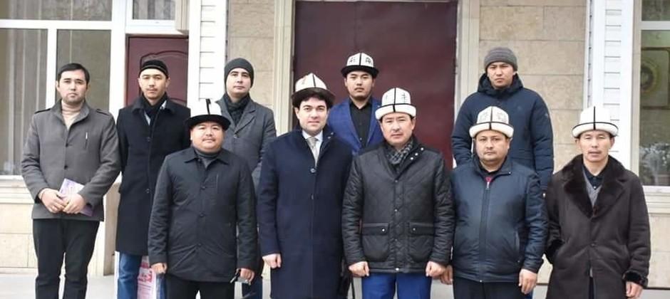 Ректор Болгарской исламской академии посетил с визитом Киргизский исламский университет