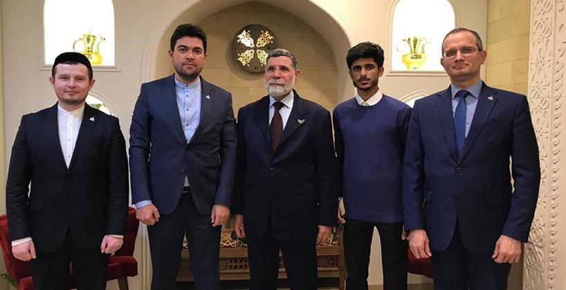 Ректор Болгарской исламской академии провел встречу с делегацией из университета имени Мухаммада V (Абу-Даби)